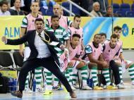 Sporting na final da UEFA Futsal Cup  (Fonte: Sporting)