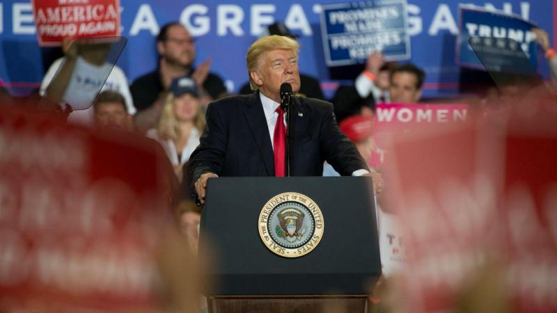 Donald Trump assinalou data num encontro com apoiantes na Pensilvânia