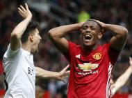 Man. United-Swansea (Reuters)