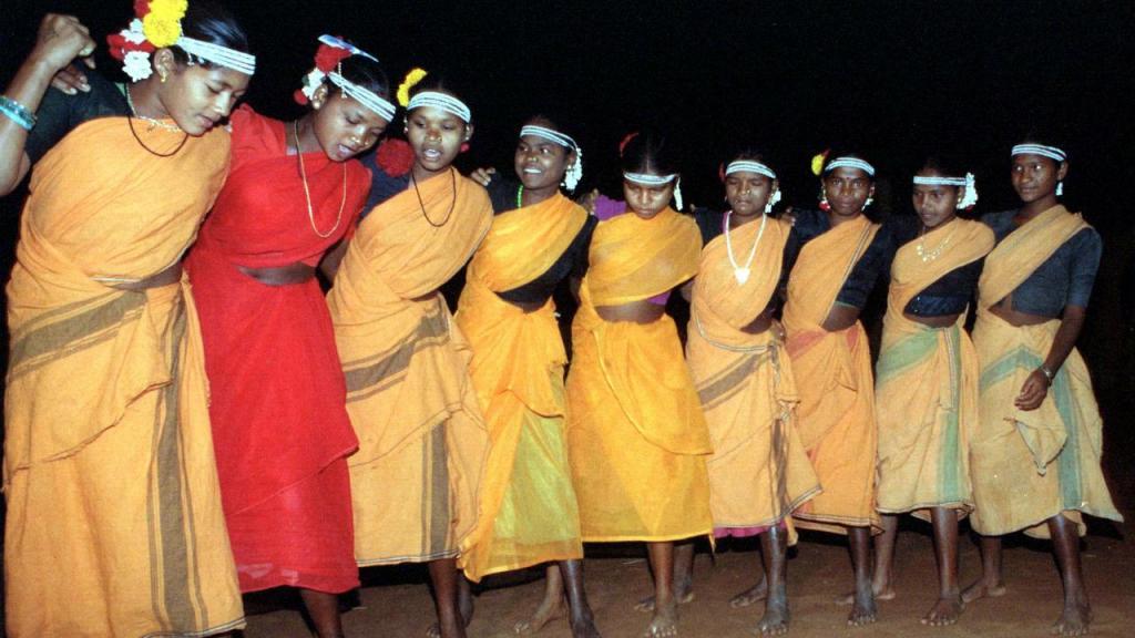 Índia - Estado Madhya Pradesh (Dança tribal)