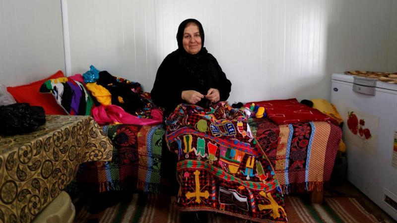 Famílias lutam pela vida em campo de refugiados no Iraque