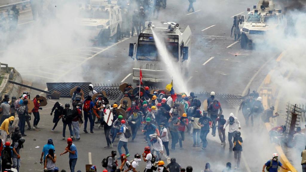 Venzuela - confrontos