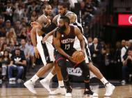 San Antonio Spurs-Houston Rockets (Reuters)
