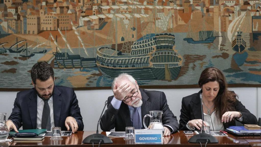 Miguel Cabrita, Vieira da Silva, e Cláudia Joaquim