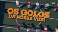 «Golos da nossa vida»: as obras de Totti em 25 anos de Roma