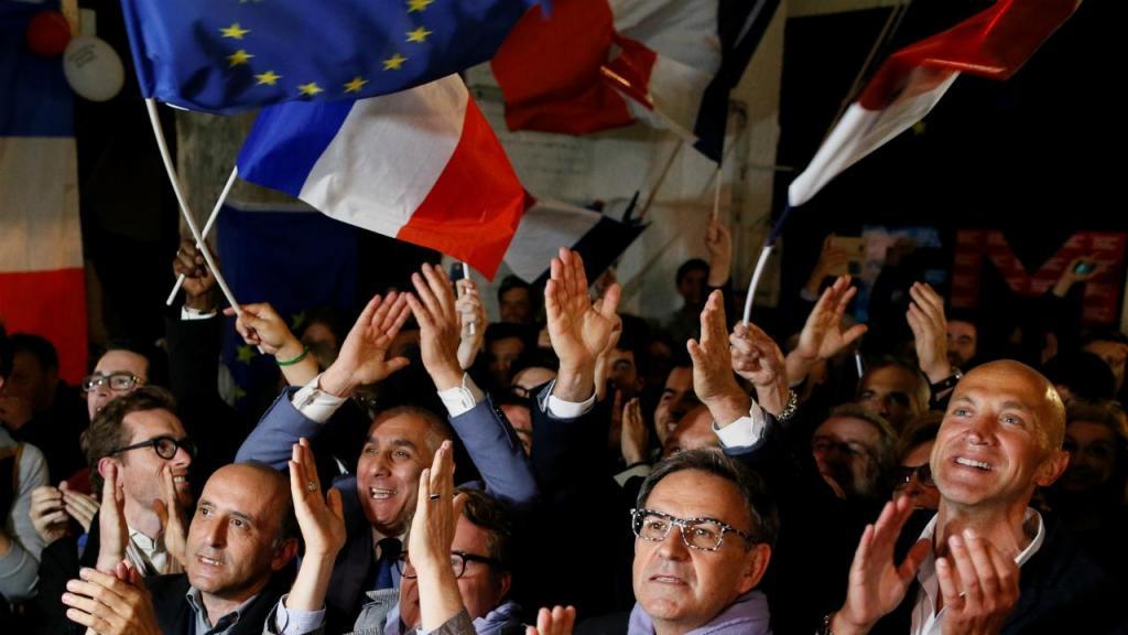 França - Eleição MAcron