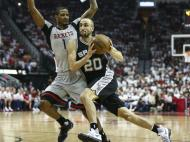 Houston Rockets-San Antonio Spurs (Reuters)
