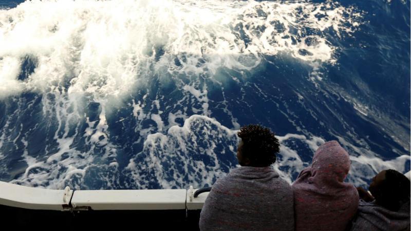 Refugiados - Mediterrâneo