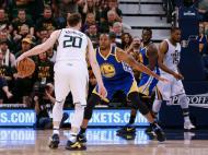 Utah Jazz-Golden State Warriors (Reuters)