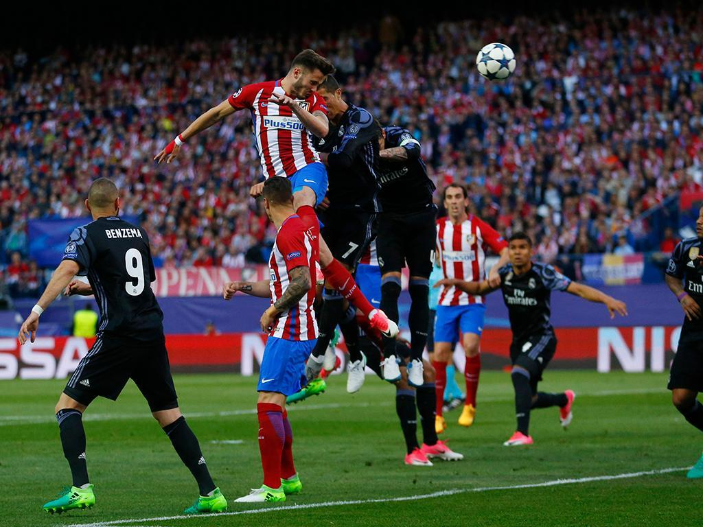 Atlético Madrid-Real Madrid (Reuters)