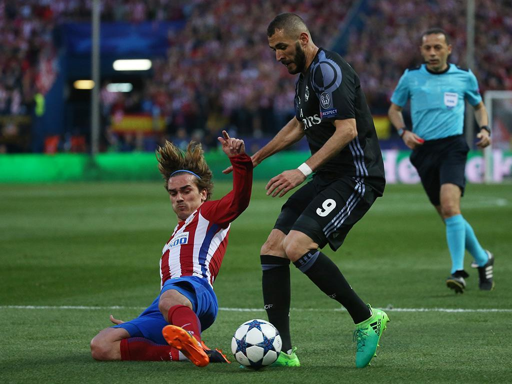 Atlético Madrid-Real Madrid (Lusa)