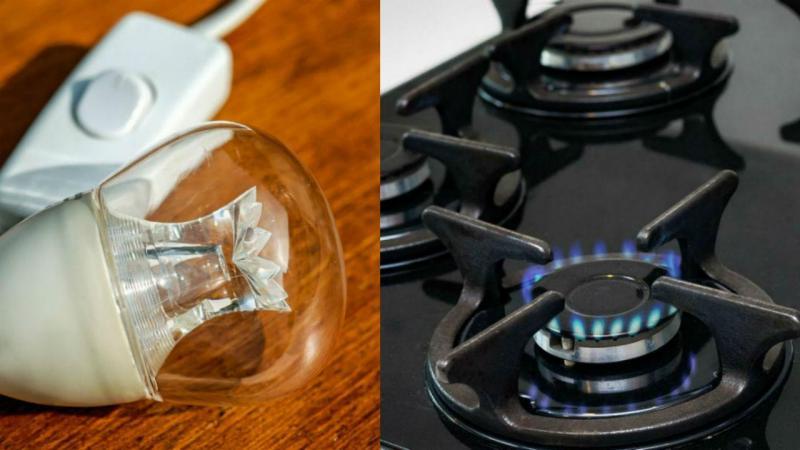 Eletricidade e gás
