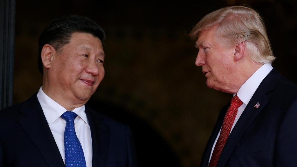 Xi Jinping e Donald Trump