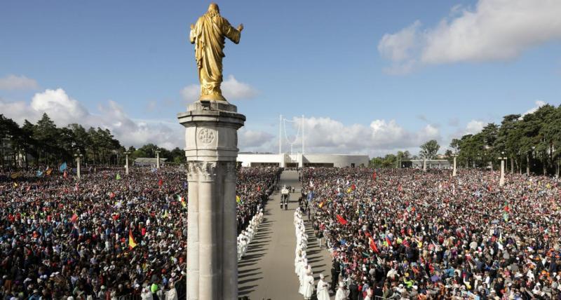 Fátima nas celebrações do 13 de maio