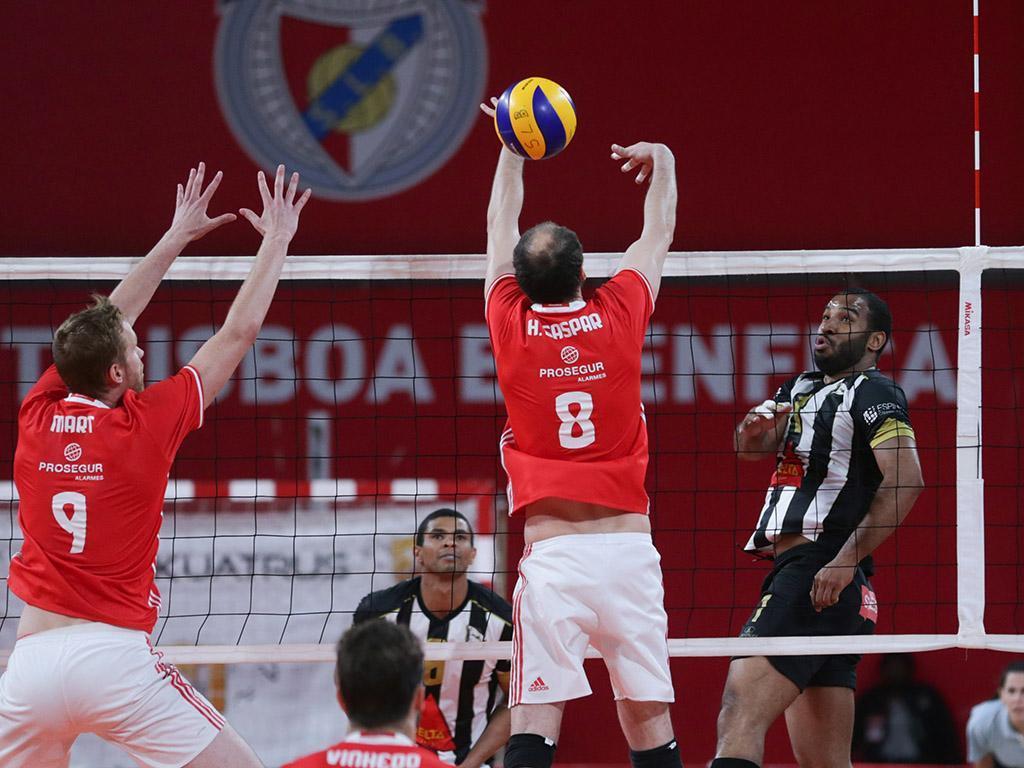 Voleibol: Benfica-Sporting de Espinho (Lusa)