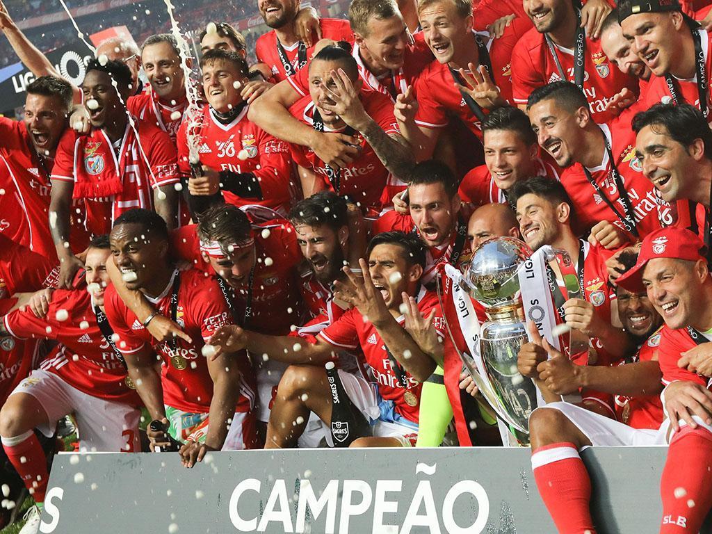 Benfica é tetracampeão (Lusa)
