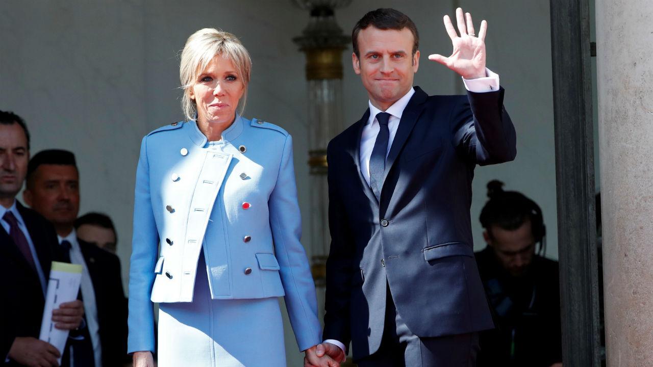 Tomada de posse de Emmanuel Macron