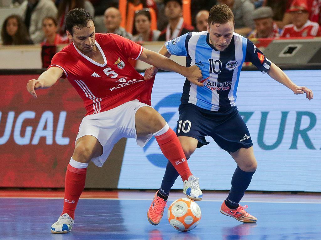 Futsal: Benfica-Burinhosa (Lusa)