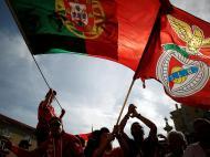 Benfica recebido na Câmara Municipal de Lisboa (Reuters)