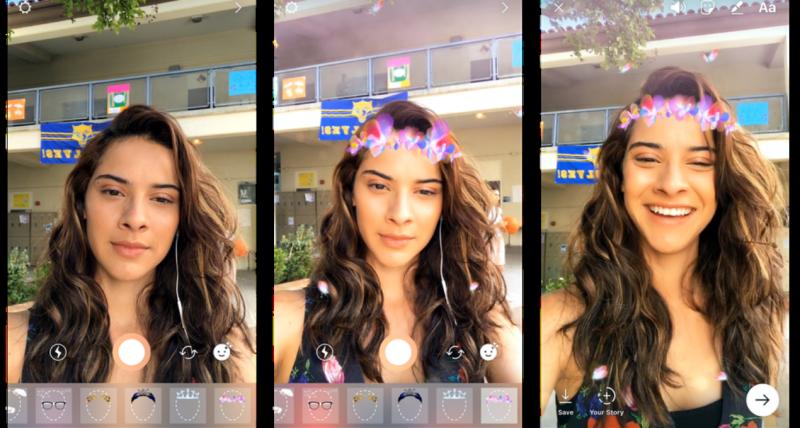 Novos filtros do Instagram