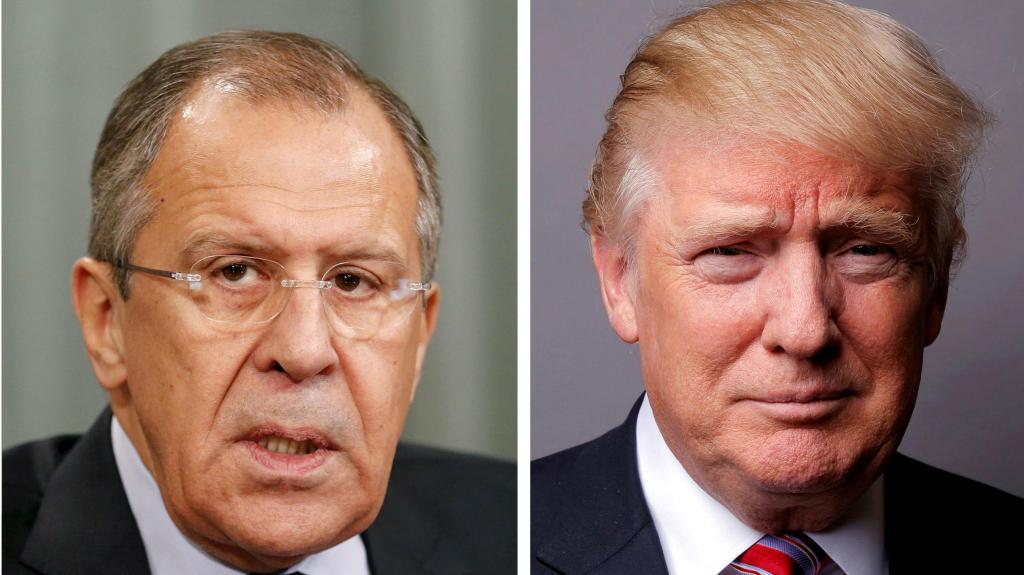 Trump reune-se com Lavrov, ministro dos negócios estrangeiros russo