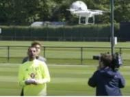 Eduardo com o drone (facebook)