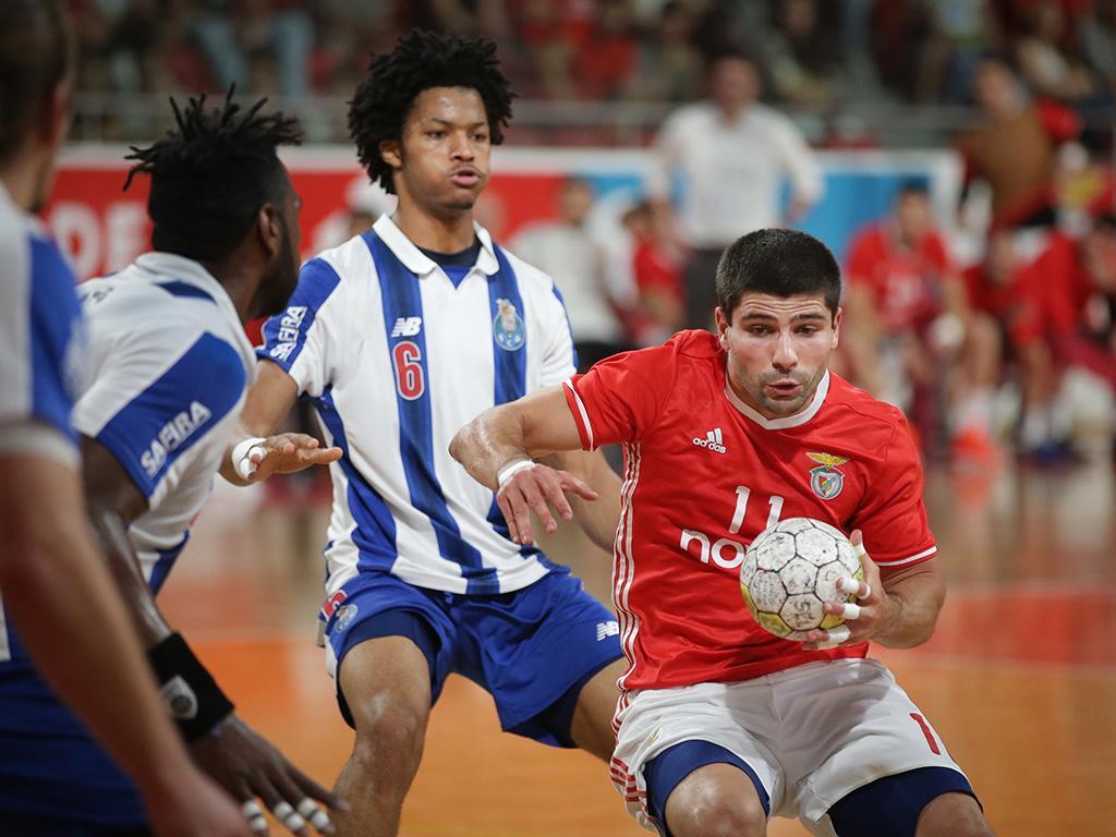 Andebol: Benfica-FC Porto (Lusa)