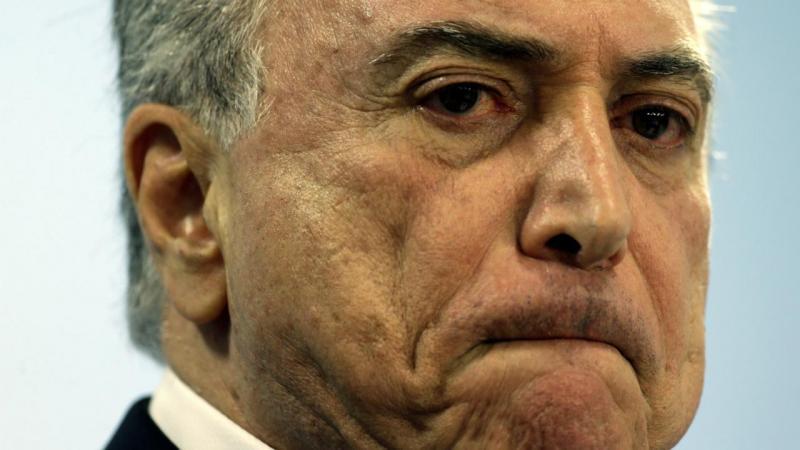 Resultado de imagem para Presidente Temer já foi formalmente acusado de corrupção passiva