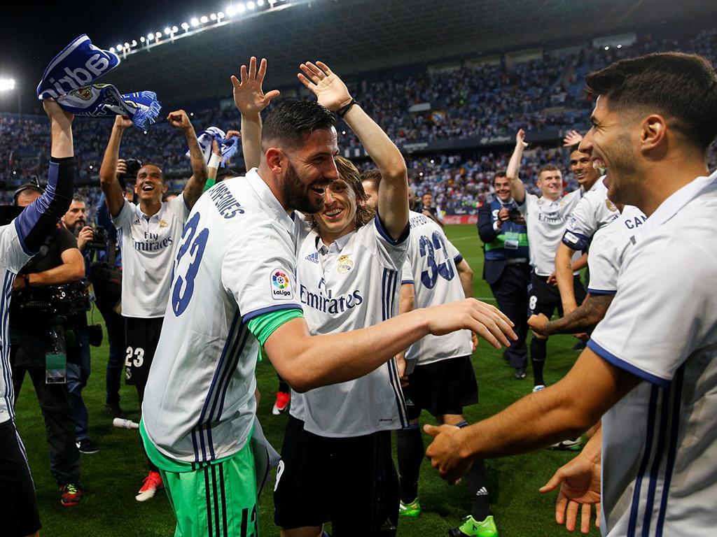 Real Madrid é campeão Espanhol (Reuters)
