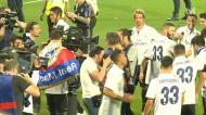 Festa do Real Madrid começou em Málaga