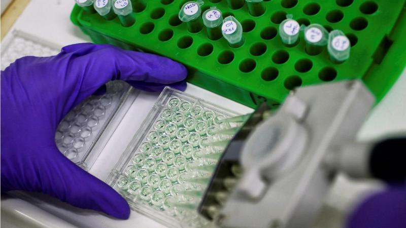 Recolha de proteína para análise ao cancro