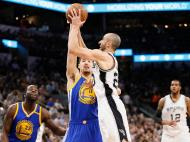 San Antonio Spurs-Golden State Warriors (Reuters)