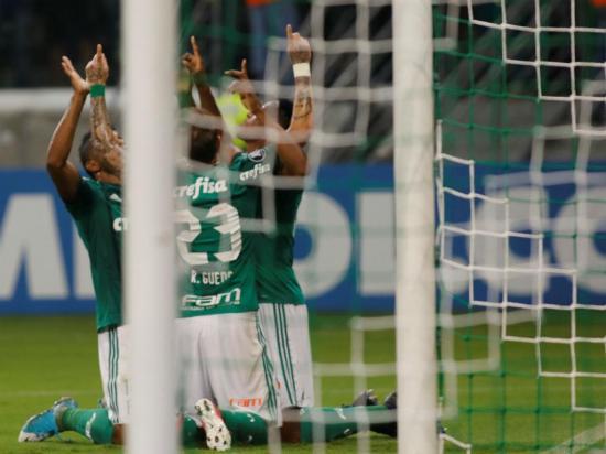 Libertadores: Palmeiras passa em primeiro
