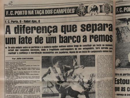 Viena, 30 anos: o percurso do FC Porto nos jornais