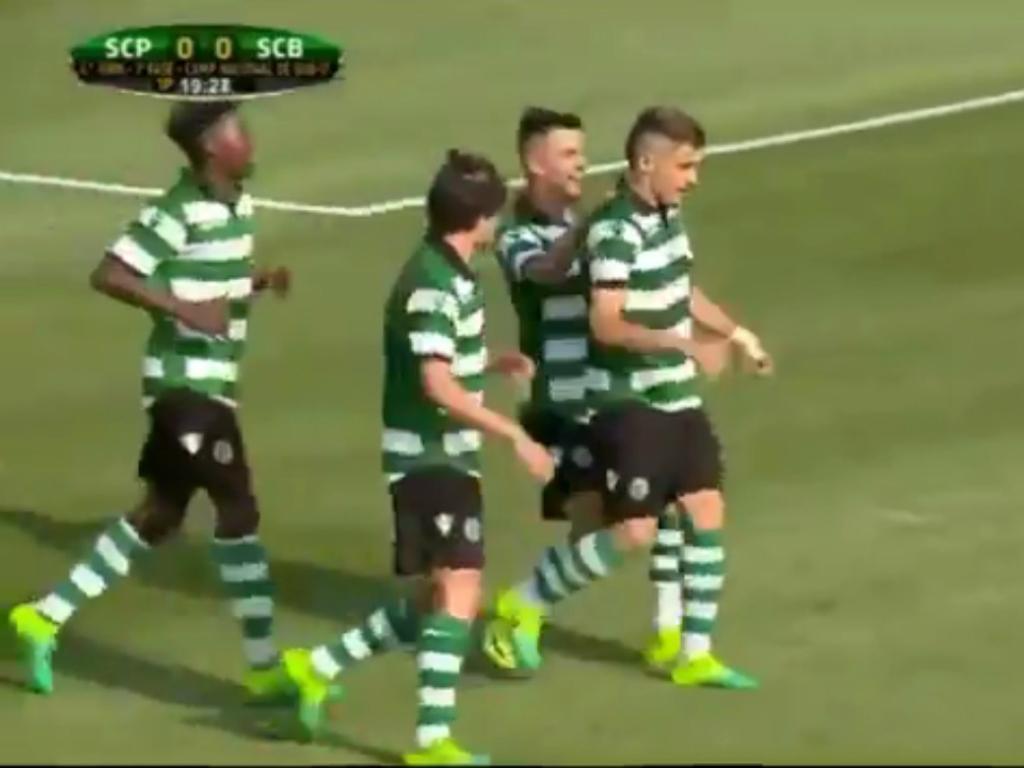 VÍDEO: golaço na vitória dos juvenis do Sporting
