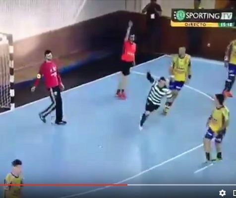 VÍDEO: o incrível golo de Carlos Ruesga pelo Sporting