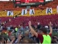 Francesco Totti na despedida pela Roma