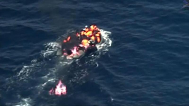 Força Aérea Portuguesa salva 34 migrantes após explosão