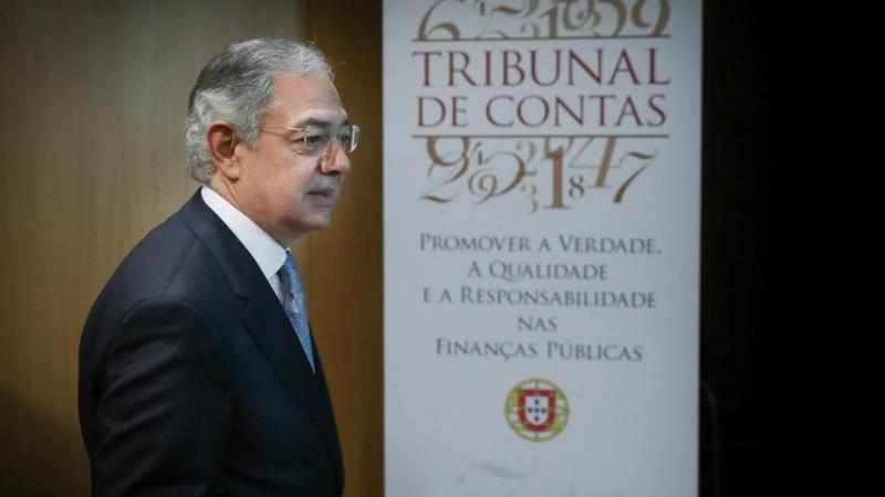 Presidente do Tribunal de Contas, Vítor Caldeira