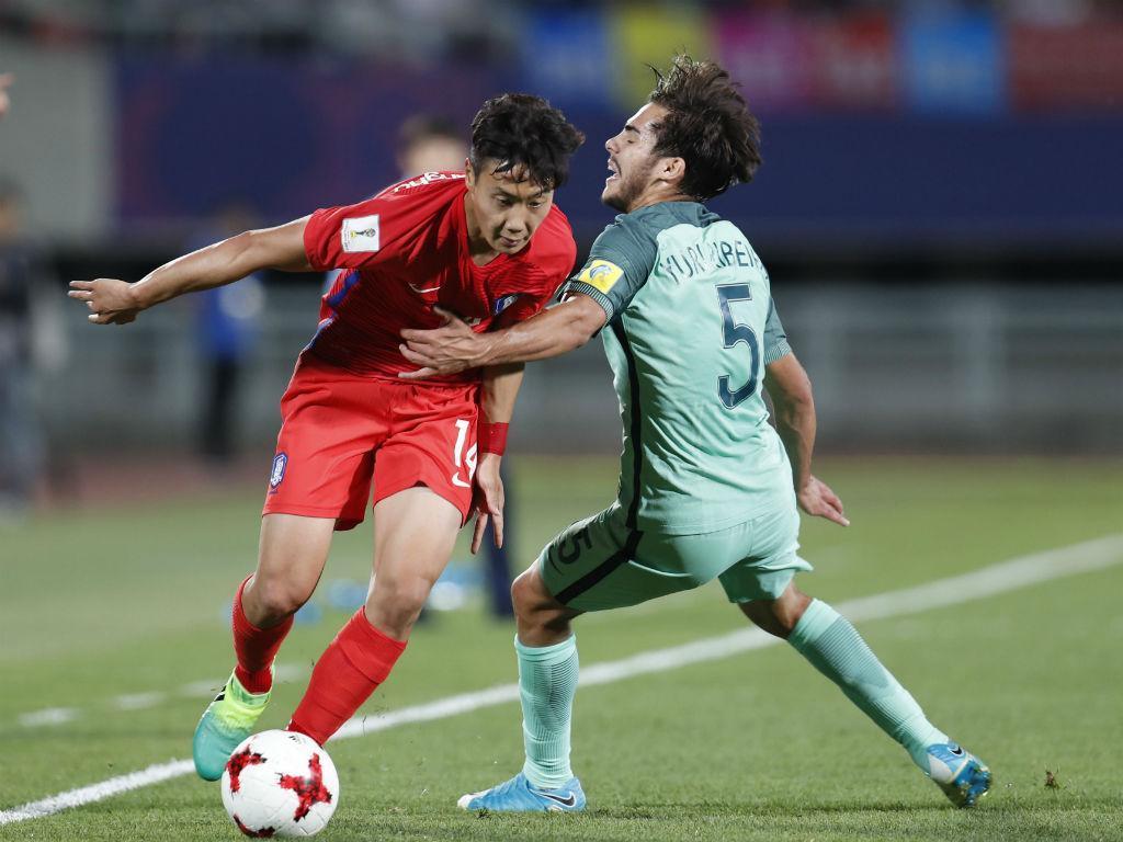 Mundial sub-20: Portugal-Coreia do Sul