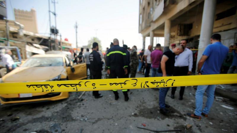 Duplo atentado em Bagdade