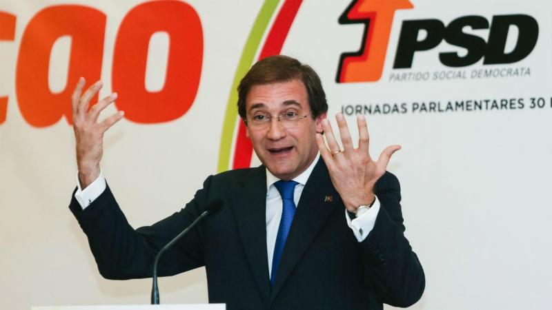 Pedro Passos Coelho no encerramento das Jornadas Parlamentares do PSD, Albufeira, 31 de maio 2017