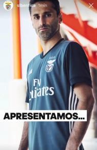 OFICIAL: novo equipamento alternativo do Benfica