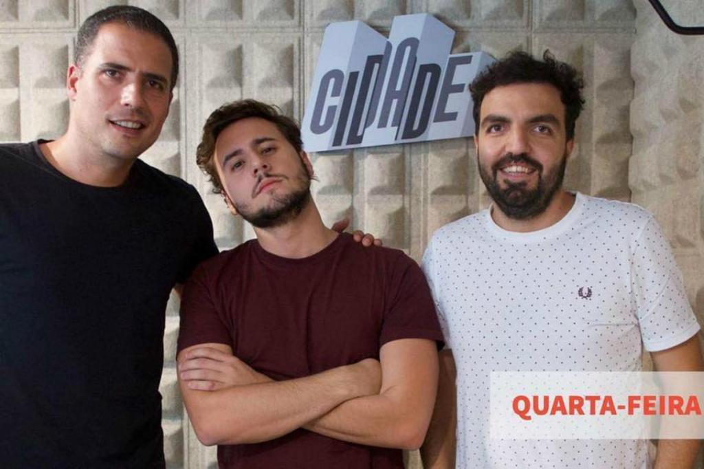 Ricardo Araújo Pereira, Carlos Coutinho Vilhena e Salvador Martinha