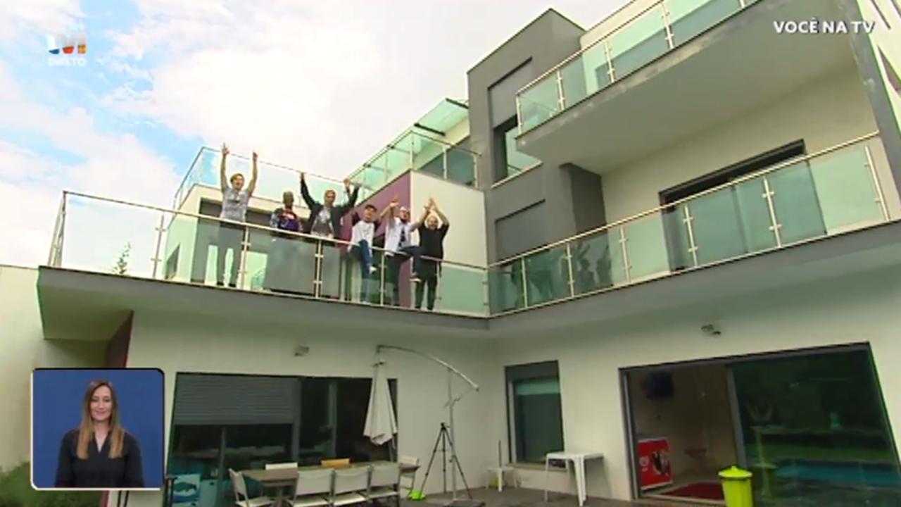 A Casa Dos Youtubers Você Na Tv Tvi