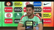 «Transferência? Futuro é e será seguramente no Benfica»