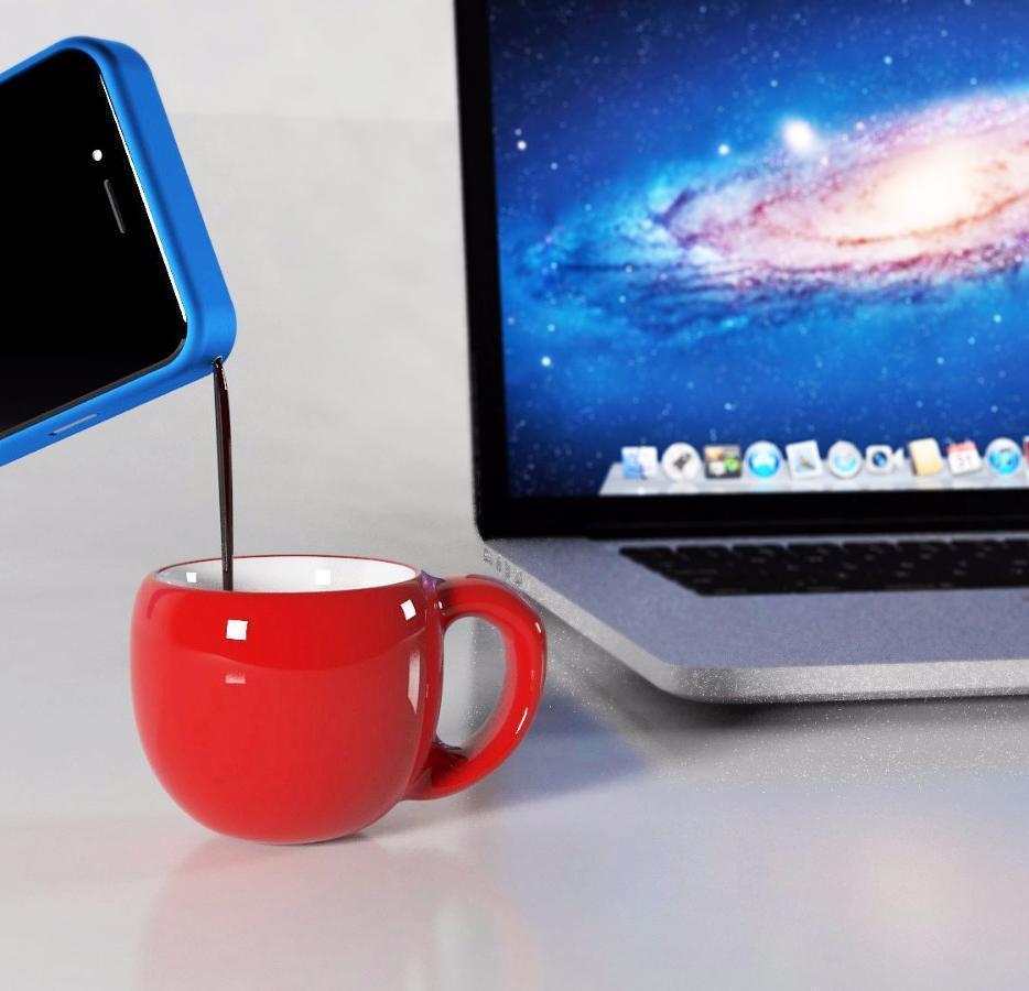 Mokase, a capa de telemóvel que tira café
