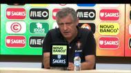 Fernando Santos quer aproveitar Chipre para dar ritmo a jogadores