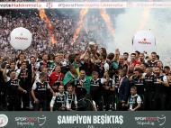 Besiktas é campeão turco (Lusa)