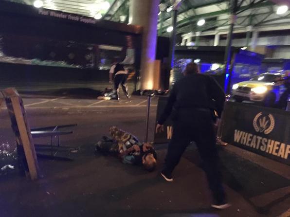 Alegado suspeito do atentado em Londres a ser detido pela polícia